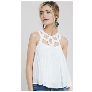 Wishlist Asher Cut Out Neck Top